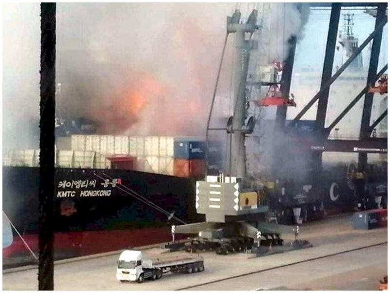 涉事貨船屬香港公司。網圖