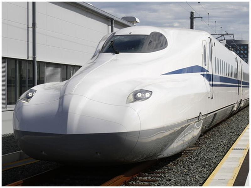 新幹線N700S時速高達360公里。網圖