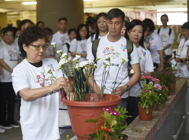 「大愛恩人」計畫於今早舉行每年的春祭紀念儀式。
