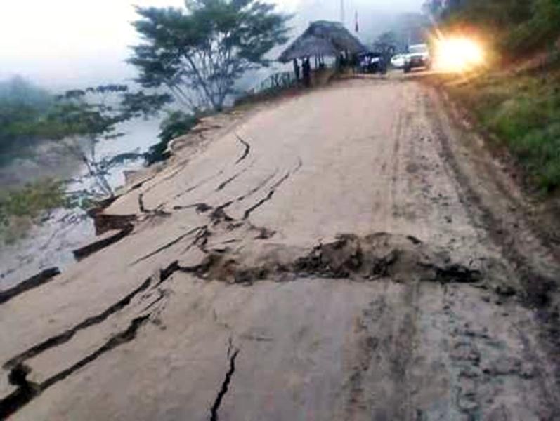 秘魯北部今天清晨發生規模8級強震。AP