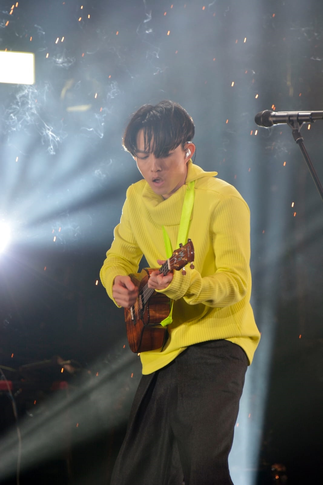 《林宥嘉idol世界巡迴演唱會》在紅館演出最後一場。