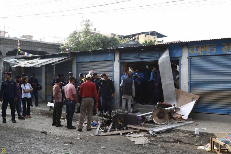 尼泊爾首都加德滿都周日發生三宗連環爆炸,造成4死7傷,警方懷疑事件與共產黨分裂組織有關。(網圖)