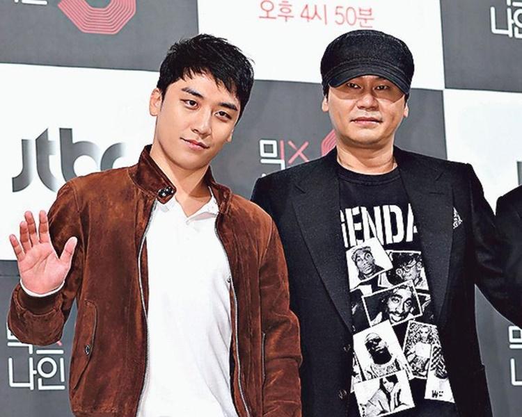 YG社長楊賢碩被指涉嫌安排性招待。網圖