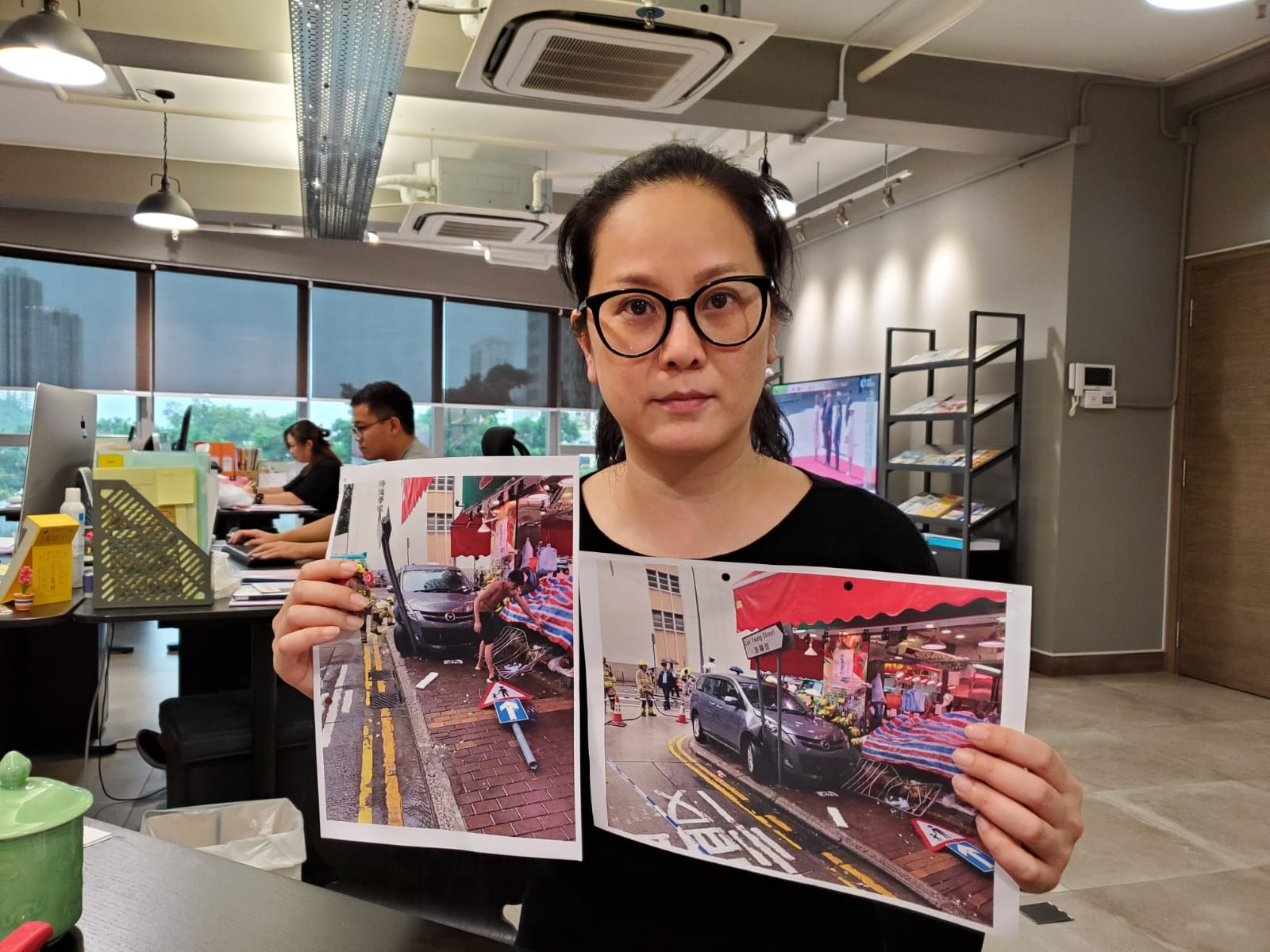 南區區議員任葆琳指涉事地點去年亦曾發生車禍。