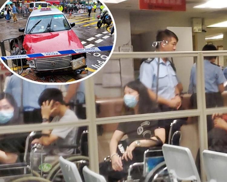 意外後傷者送院治理。