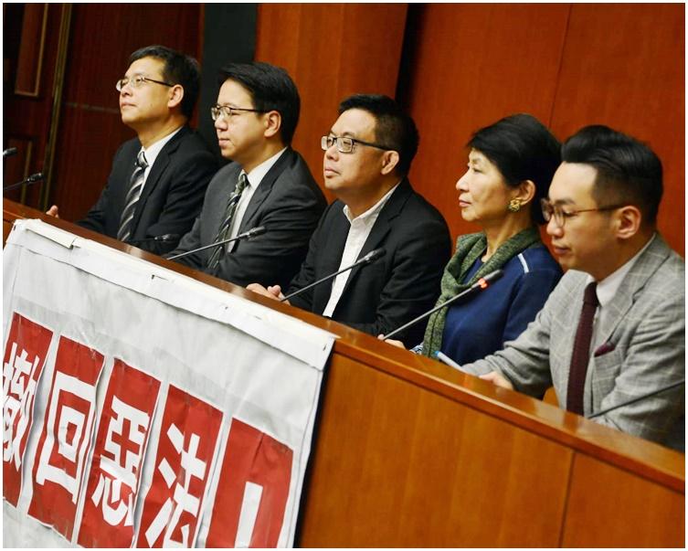 民主派向林鄭月娥發出辯論邀請。