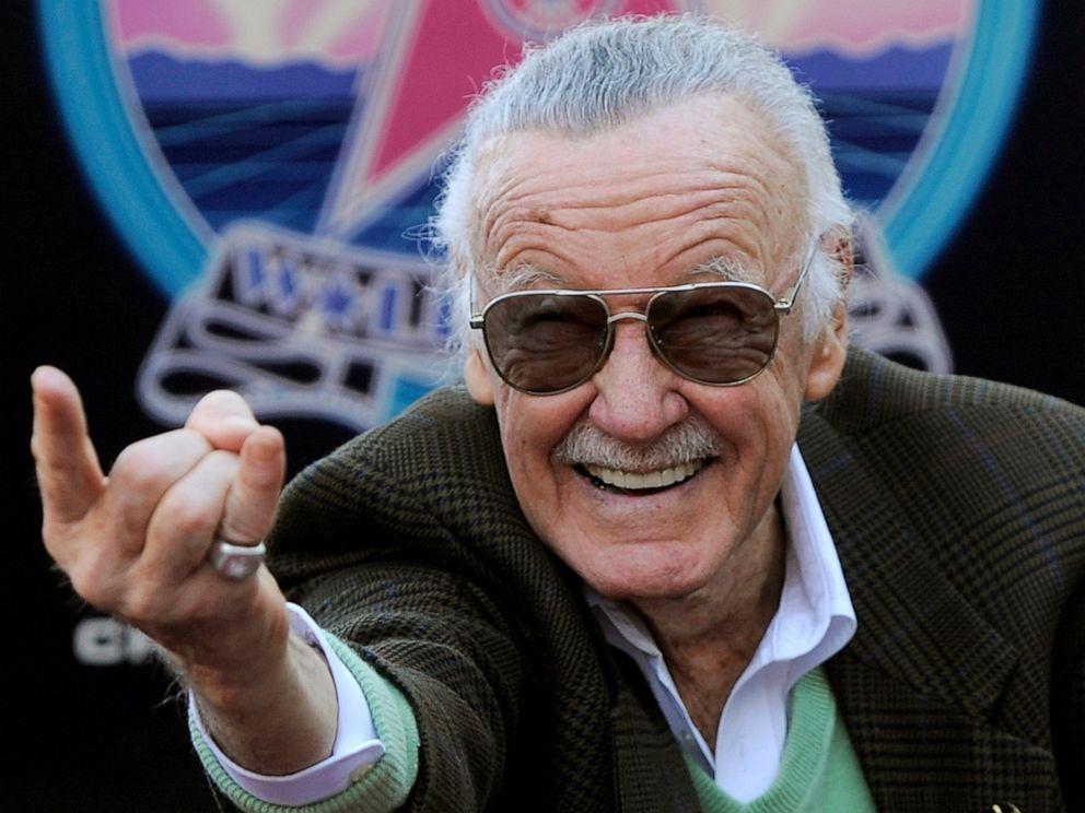 有「Marvel之父」称号的Stan Lee,去年11月去世,享年95岁。图片
