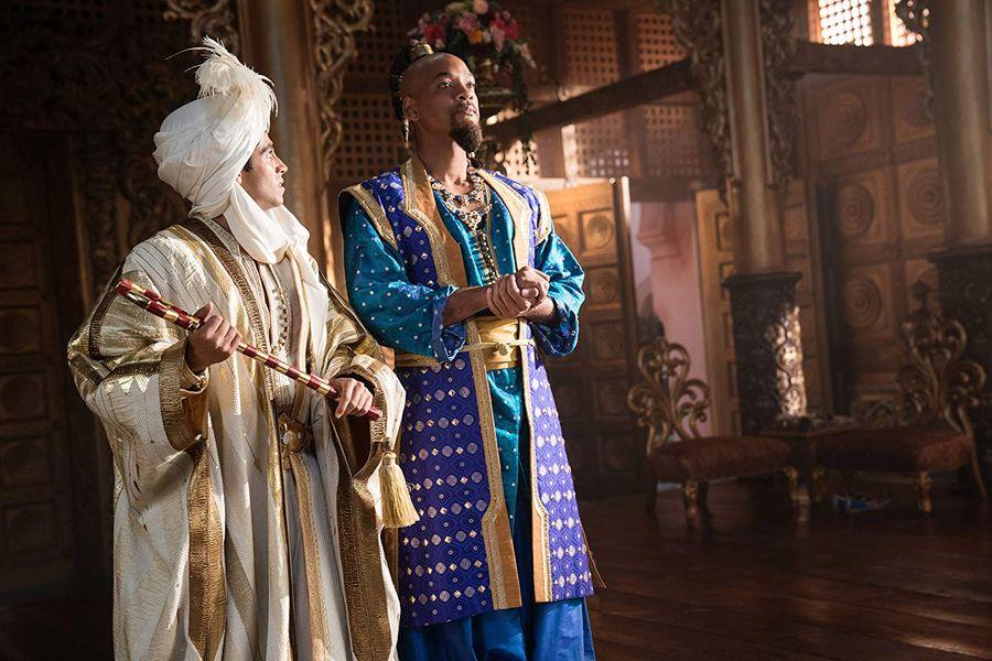 《阿拉丁》開畫連周末票房已收6.76億港元。劇照