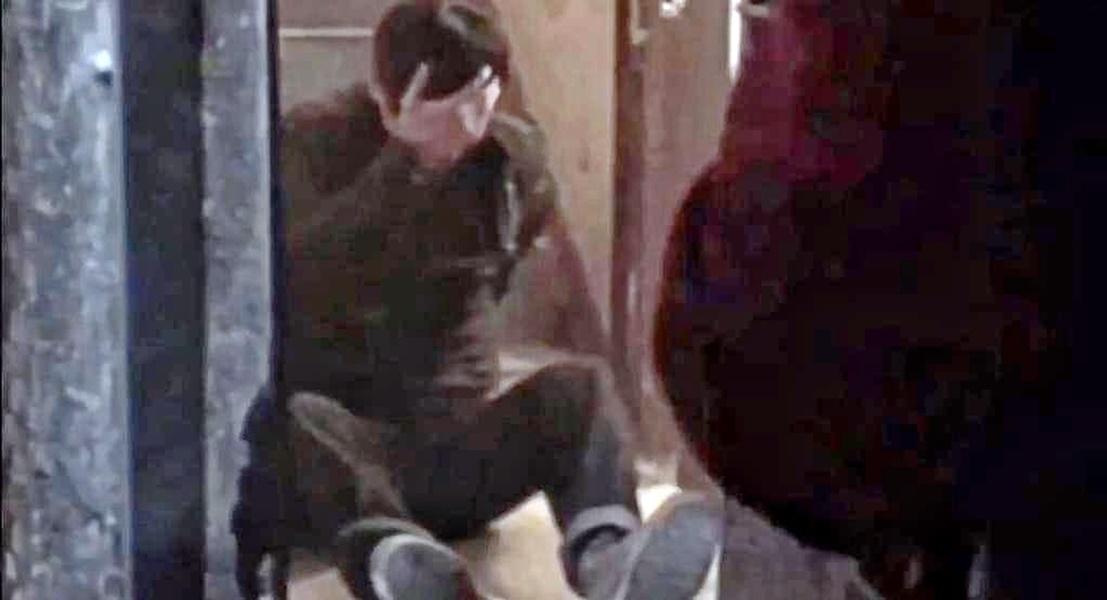 張晉為了拍攝跳樓梯級的戲分不慎受傷。