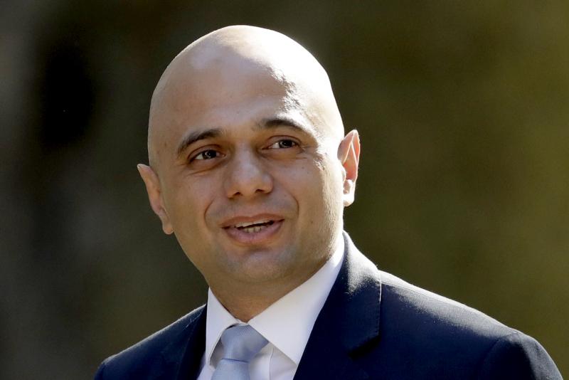 英國內政大臣賈偉德宣布競逐保守黨黨魁,令表態參選人數增至九人。AP