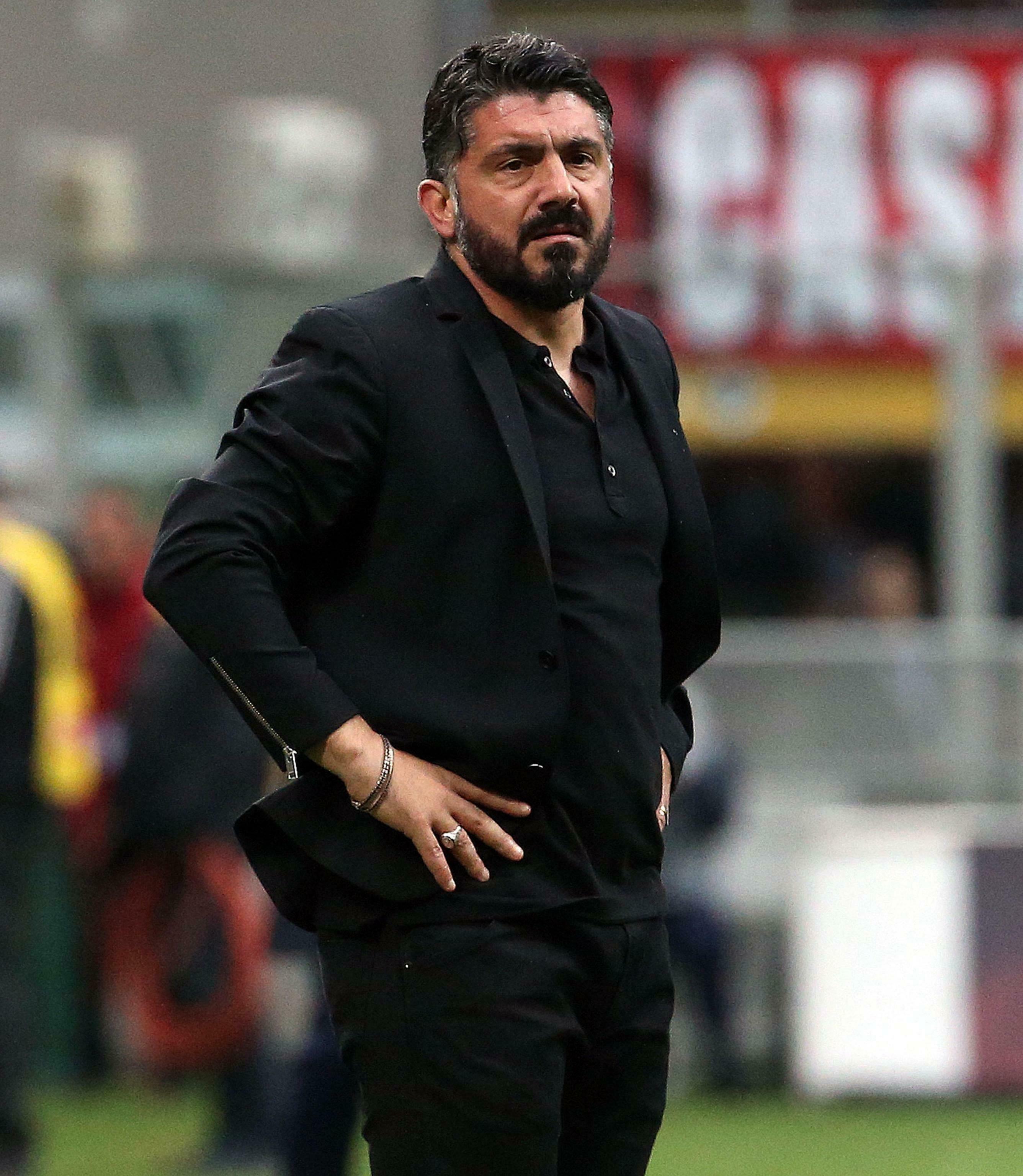 加度素執教AC米蘭兩季後下台。AP