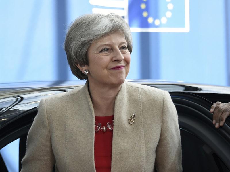 下月離任的英國首相文翠珊出席歐盟峰會,她強調英國應該在有協議下脫歐,呼籲各方妥協。AP