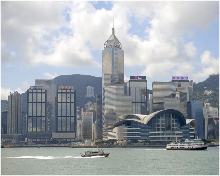 2019年全球競爭力報告,香港排第二名。 資料圖片