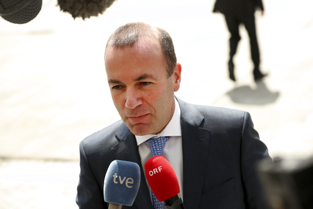 韋伯(Manfred Weber)或出任歐盟委員會主席。AP