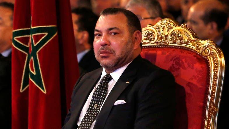 摩洛哥國王穆罕默德六世。AP圖片