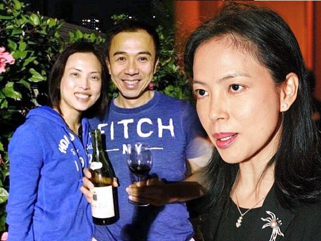 冯永业与两位「冯太」,冯程淑仪。资料图片