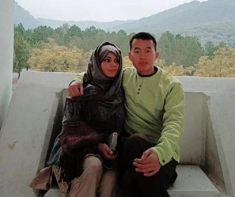 巴基斯坦少女去年認識中國男子。網上圖片
