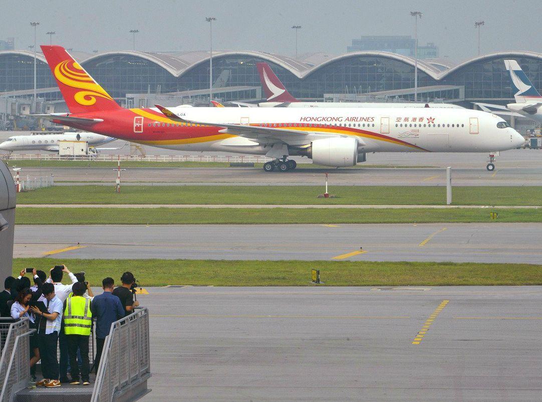 香港航空强调,不会对航机安全构成风险或违规。资料图片