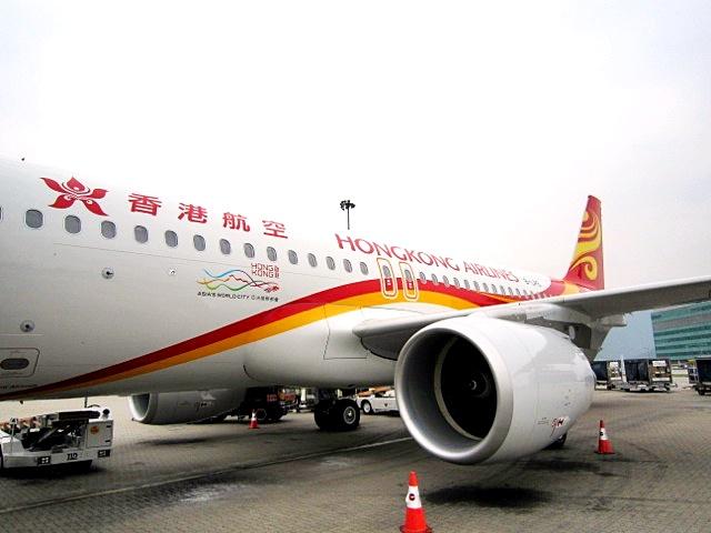 香港航空涉跌零件个案。