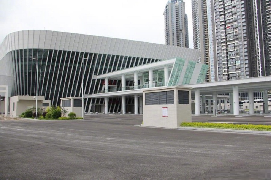 深圳政府指蓮塘口岸9月具備啟用條件。網上圖片