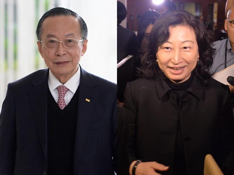 潘樂陶(左)涉避稅逾千萬,鄭若驊疑無申報。資料圖片