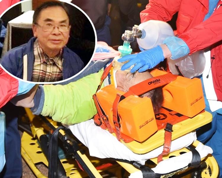 事发于17年12月22日,事主送院抢救。小图为死者罗裕锵。资料图片