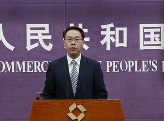 高峰强调,中方坚决反对美方的贸易霸凌行为。商务部网页图片