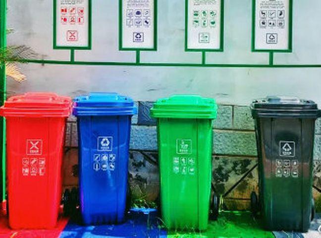 北京市將在學校等地開展垃圾強制分類。示意網圖