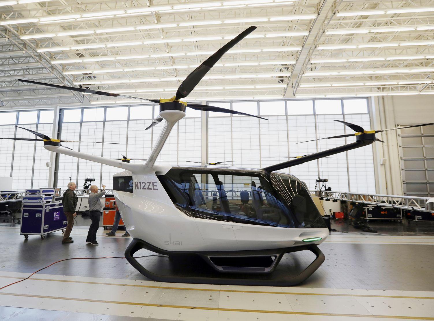 运输公司 Alaka'i Technologies 正研发一种飞行车。