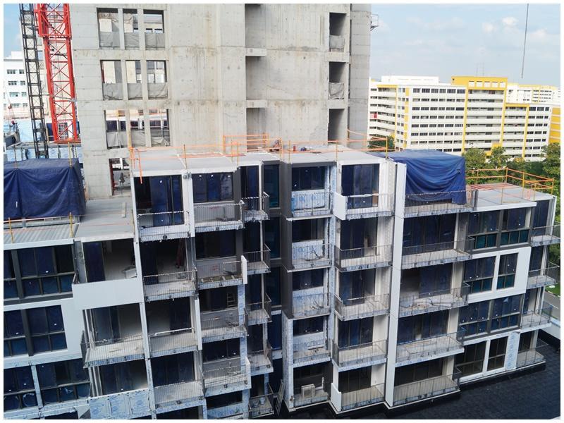 屋宇署放宽6%组装合成发展项目的总楼面面积。资料图片