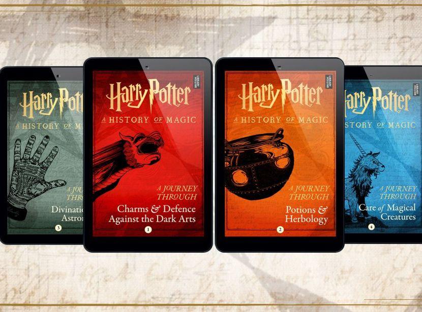 6月27日起將推出4本新電子書。Pottermore網站圖片