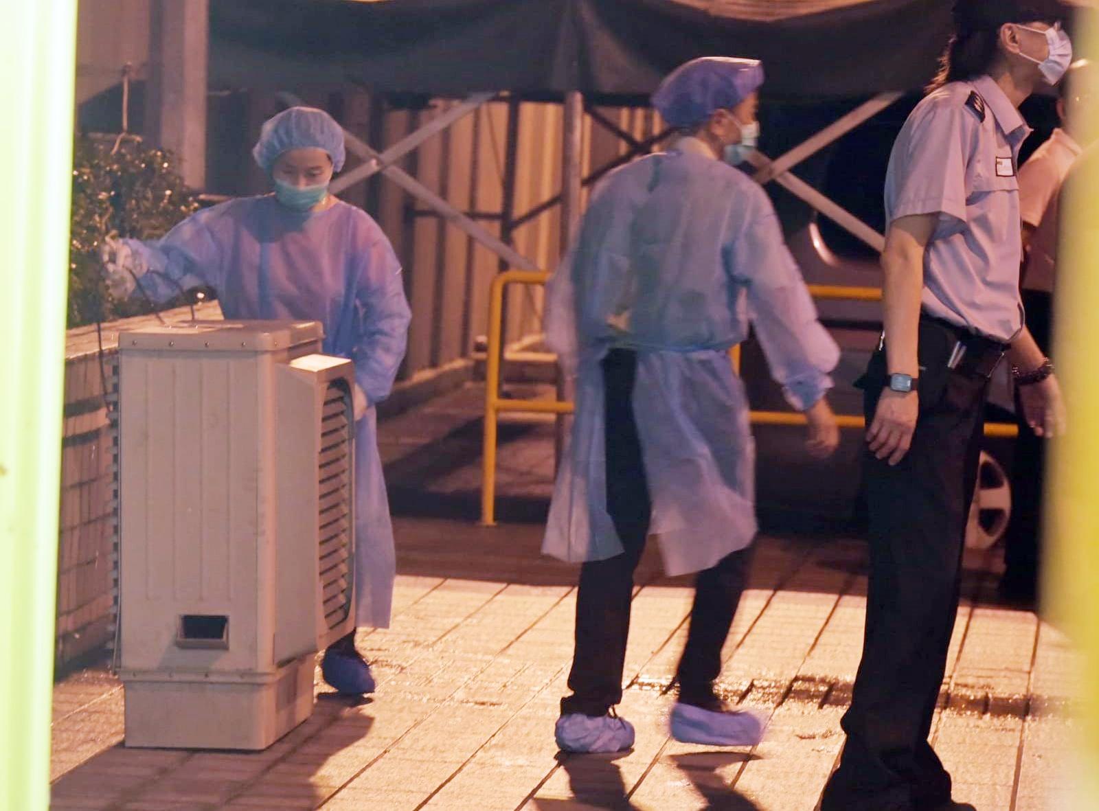 上水屠房再现疫情要关闭清毒。