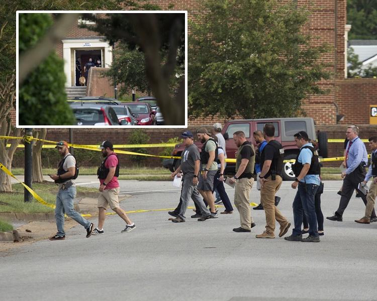 大批警员到场调查。