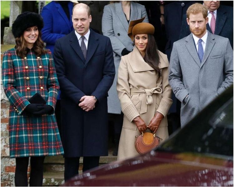 傳哈里婚後與哥哥威廉私下半年無見。AP