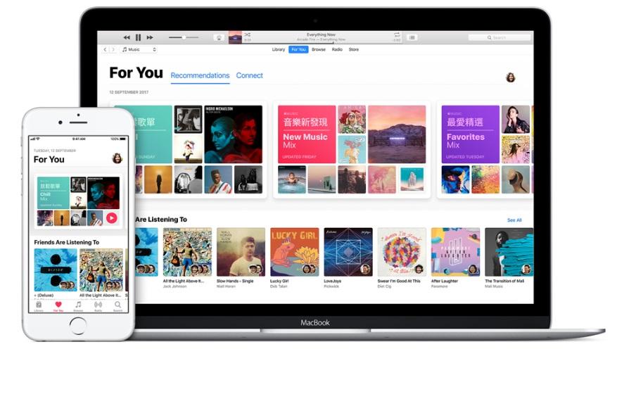 蘋果即將宣布關閉2003年推出的iTunes。官網圖片