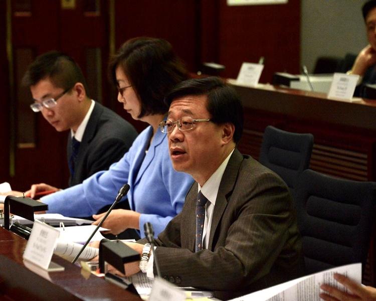 李家超强调现有制度能充份保障人权。