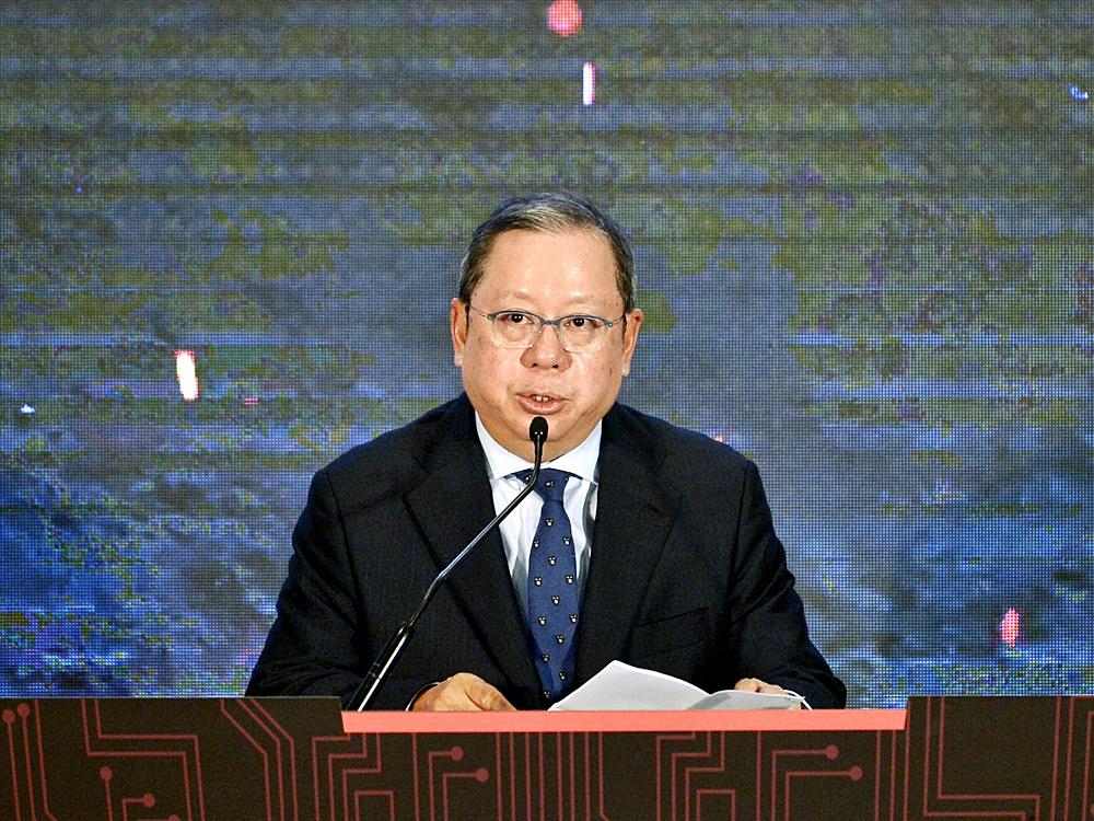 貿發局新任主席林建岳於上周六履新。資料圖片