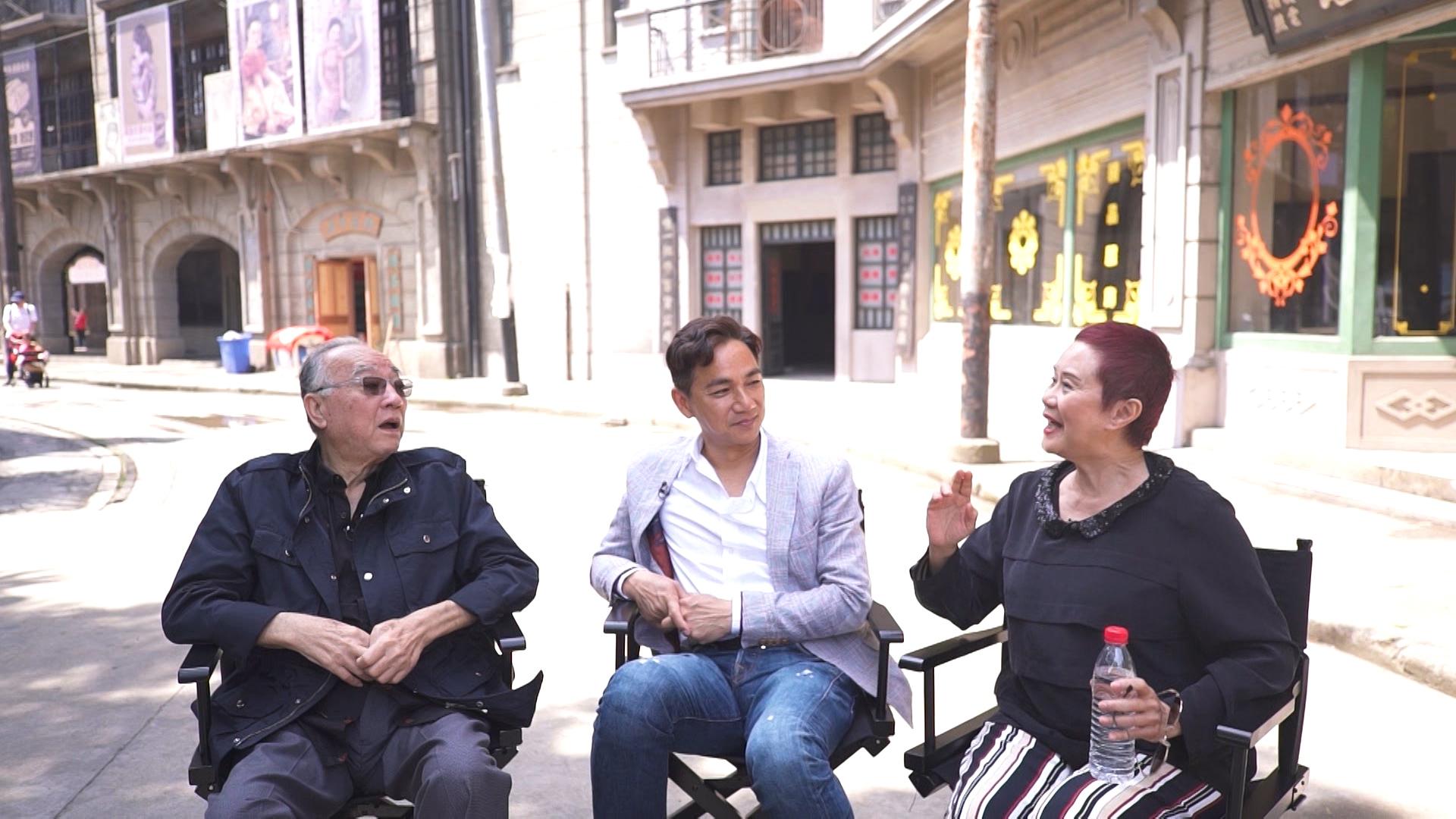 大姐明與鵬哥專程到上海探望已北上發展並定居上海的老朋友駱達華。
