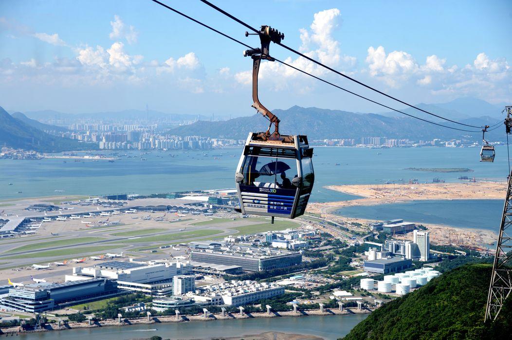 即日起至2019年9月30日,香港居民於生日當天出示香港身份證,可免費乘坐昂坪纜車(來回)一次。資料圖片