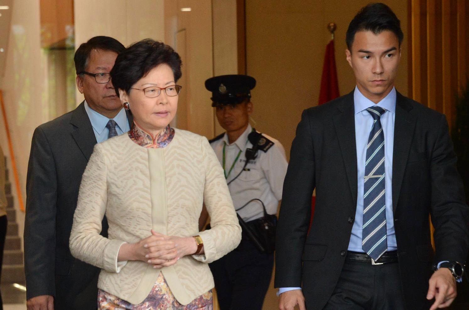 林郑月娥表示,有关修例会削弱本港法治和损害自由的忧虑无根据。