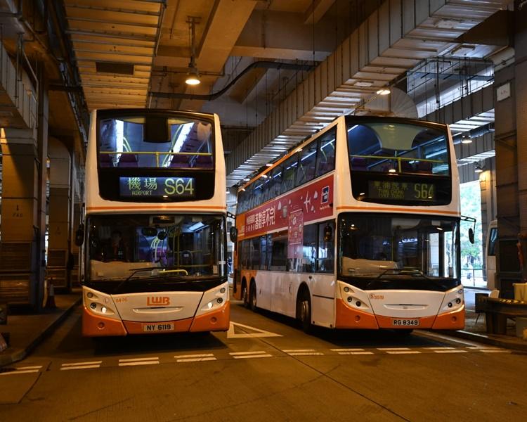 逸东邨巴士总站。欧阳伟光摄