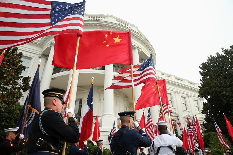 北京外交部发赴美安全警示。 AP图片