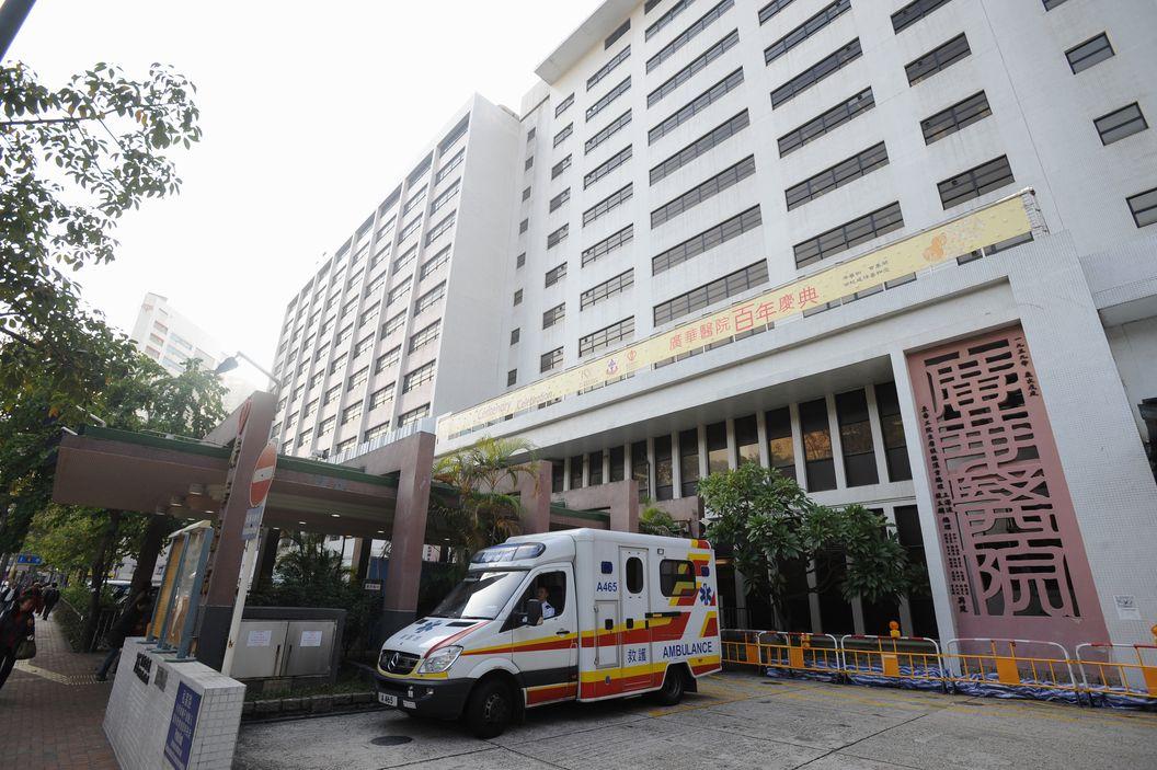 3名男子被送往广华医院治理。 资料图片