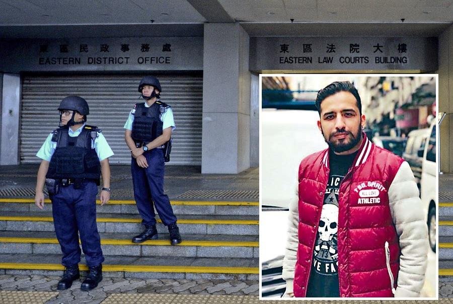 文子星(小圖)回國的交付審判程序今於東區裁判法院進入第二天審訊。資料圖片