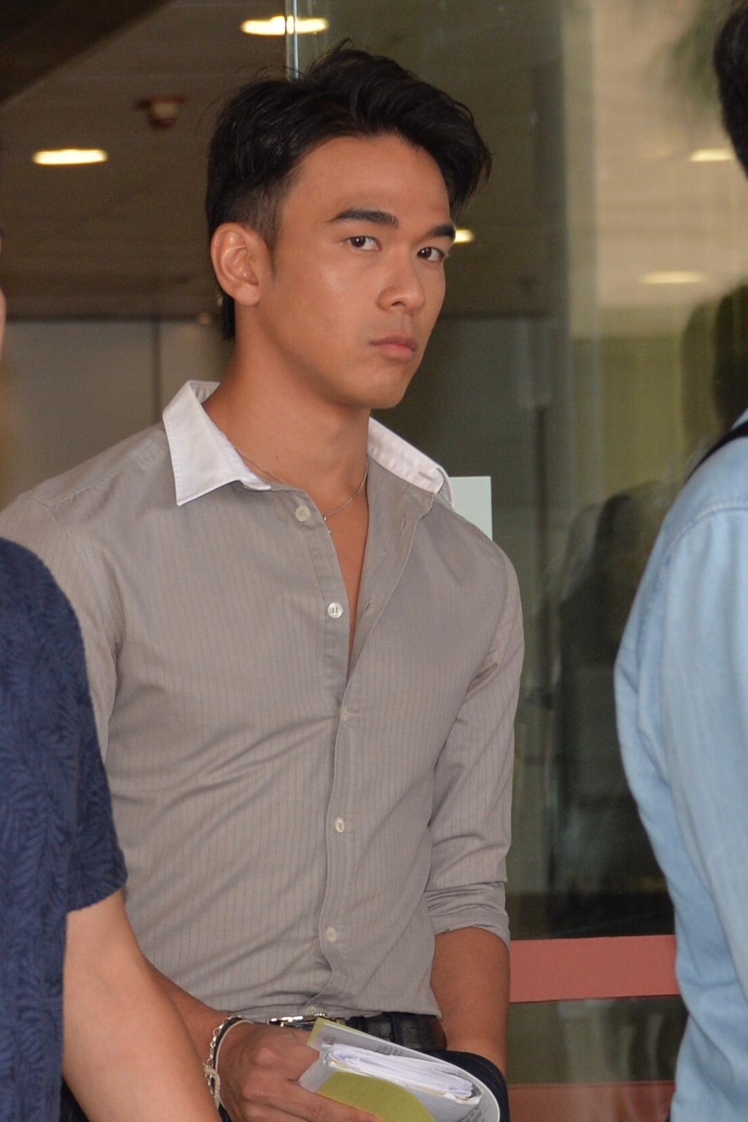 庞景峰今在东区裁判法院承认控罪。卢江球摄
