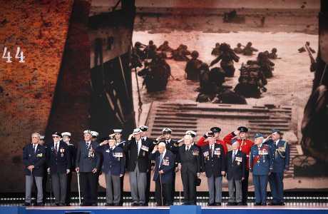 多名世界领袖及二战老兵,出席纪念诺曼第登陆75周年活动。