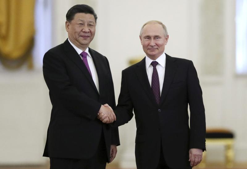国家主席习近平展开对俄罗斯的国事访问。AP