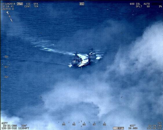 美俄軍艦東海險相撞 兩國互相指責