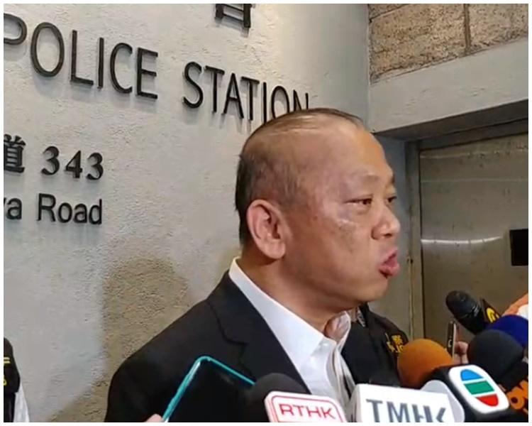 黄维。警察facebook