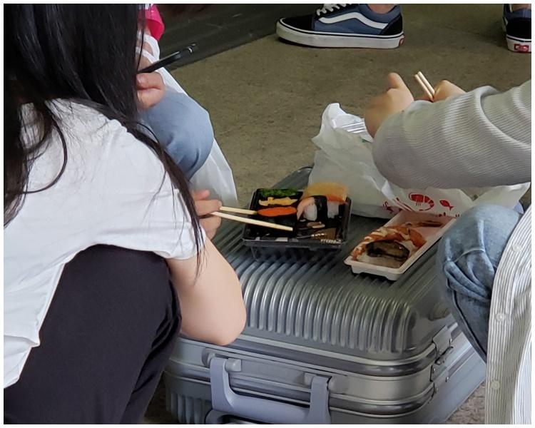 大嘆外賣壽司。facebook群組「Tai Po大埔」Kat Kitty Fung